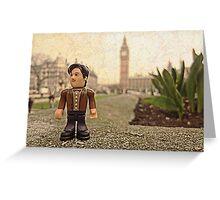 Dr Who at Big Ben Greeting Card