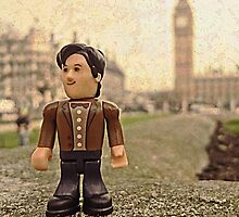 Dr Who at Big Ben by TimConstable