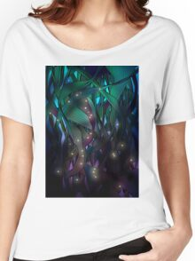 Nocturne (with Fireflies) Women's Relaxed Fit T-Shirt
