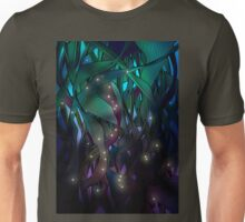 Nocturne (with Fireflies) Unisex T-Shirt