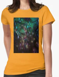 Nocturne (with Fireflies) Womens Fitted T-Shirt