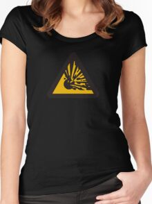 Explosive! Women's Fitted Scoop T-Shirt