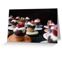 Cupcakes on Parade Greeting Card