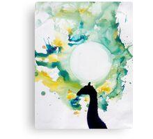 Giraffe Nobility Canvas Print