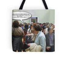 Cheryl Meets Mona Lisa Tote Bag