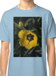 Sunny Yellow in the Shadows - a Cheerful Spring Tulip Classic T-Shirt