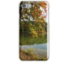 Autumn Sunrise Landscape iPhone Case/Skin
