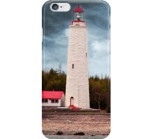 Cove Island Lighthouse - Ontario iPhone Case/Skin