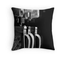 Turn Off The Lights Throw Pillow