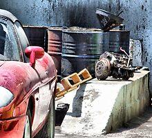 """Italian Red Sport Car by Antonello Incagnone """"incant"""""""
