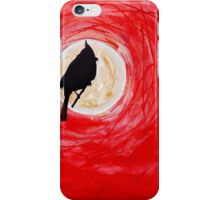 Cardinal Contemplation iPhone Case/Skin