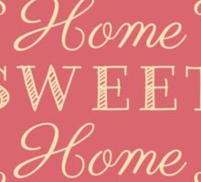 Home Sweet Home - Pink Floral Sticker