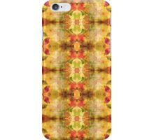 Fall Leaves Kaleidoscope iPhone Case/Skin