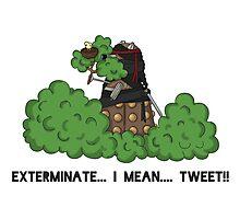Daleks do not Make Good Ninjas Photographic Print