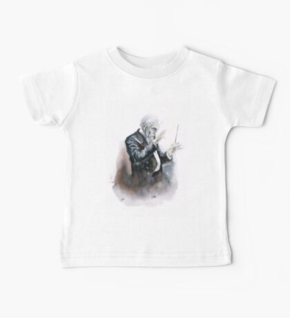 Leonard Bernstein Portrait Baby Tee