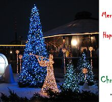 Christmas Holiday Card 3990 - LIDO's Angels Riga Latvia by FirstTree