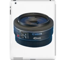 Canon EF 40mm f/2.8 STM iPad Case/Skin
