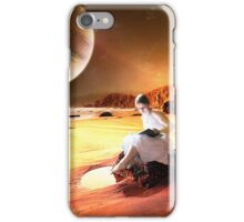 You Could Read by the Light of the Moons iPhone Case/Skin