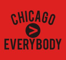 Chicago > Everybody - Bulls by jephrey88