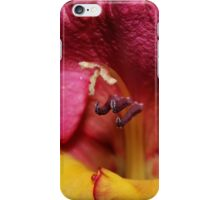 Gladiola Macro iPhone Case/Skin
