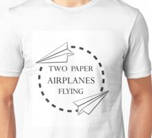 Two Paper Airplanes Unisex T-Shirt