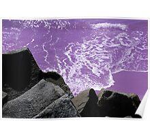 Purple Sand Poster