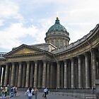 Kazan Cathedral by Elena Skvortsova