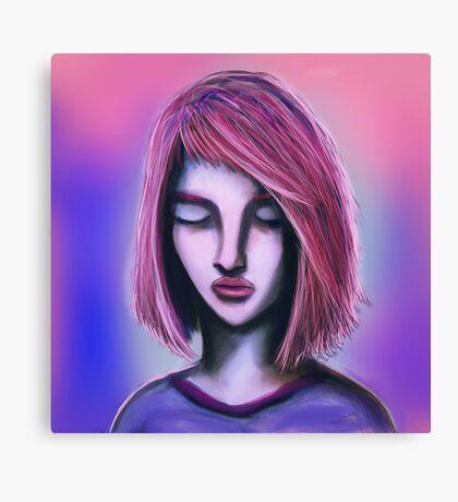 Rave Girl Canvas Print
