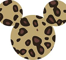 Mouse Leopard Patterned Silhouette by nemofish