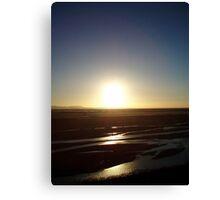 Canterbury Sunrise Canvas Print
