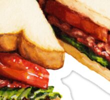 BLT Sandwich Pattern Sticker