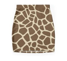 Giraffe pattern Mini Skirt
