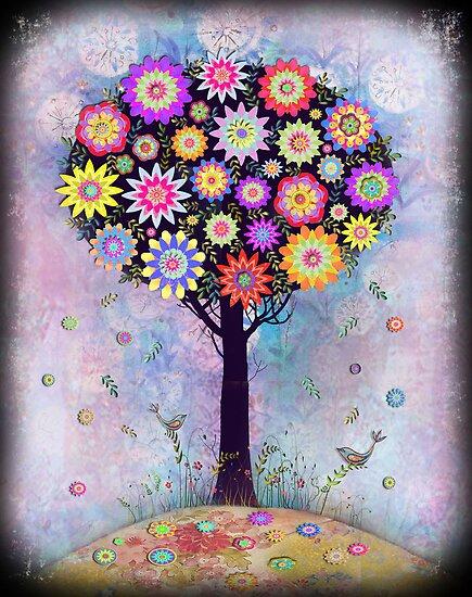 Dark tree 2 by sue mochrie