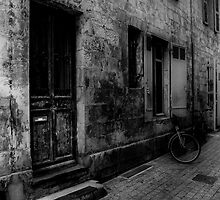 La Rochelle Street B&W by David J Knight