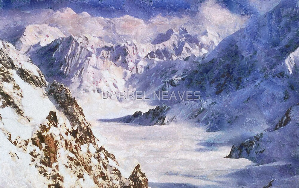 snow mountain by DARREL NEAVES
