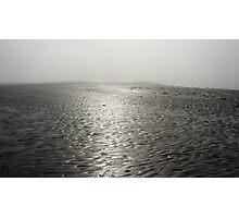 Misty Beach Photographic Print
