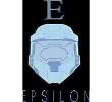 Red Versus Blue | Project Freelancer: Epsilon Photographic Print