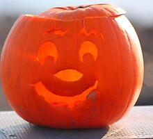 Happy Pumpkin by Ellis Lawrence