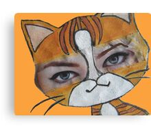 Emma the cat Canvas Print