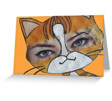 Emma the cat Greeting Card