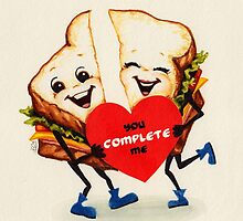 Sandwich Valentine by Kelly  Gilleran