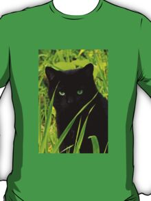 Hiding Behind the Blades of Grass T-Shirt