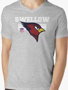 Swellow Mens V-Neck T-Shirt