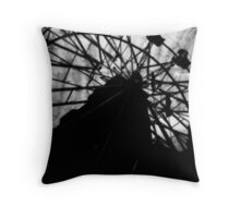 for her, the round & round was torture. Throw Pillow