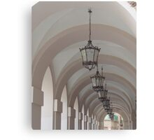 Lights & Arches Canvas Print