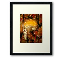 trophy... world cup abstract Framed Print