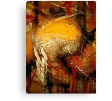 trophy... world cup abstract Canvas Print