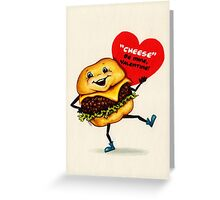 Cheeseburger Valentine Greeting Card