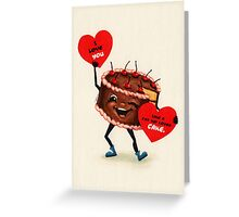 Cake Valentine Greeting Card