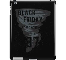 Black Friday iPad Case/Skin